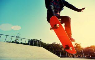VM i skateboard